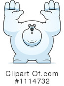 Polar Bear Clipart #1114732 by Cory Thoman