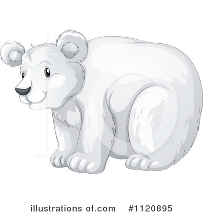 Polar Bear Clipart #1120895 by Graphics RF
