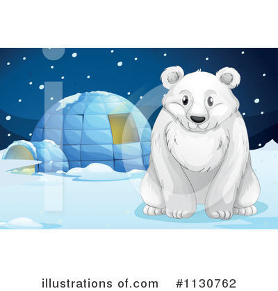 Igloo Clipart #1130762 by Graphics RF