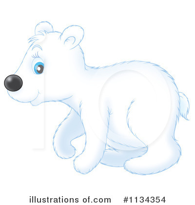 Bear Clipart #1134354 by Alex Bannykh