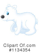 Royalty-Free (RF) Polar Bear Clipart Illustration #1134354