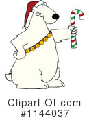 Royalty-Free (RF) Polar Bear Clipart Illustration #1144037