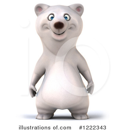 Polar Bear Clipart #1222343 by Julos