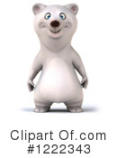 Royalty-Free (RF) Polar Bear Clipart Illustration #1222343