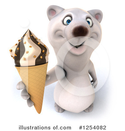 Polar Bear Clipart #1254082 by Julos