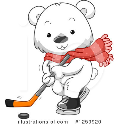 Hockey Clipart #1259920 by BNP Design Studio