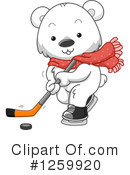 Royalty-Free (RF) Polar Bear Clipart Illustration #1259920