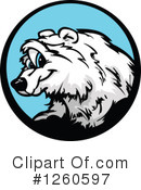 Royalty-Free (RF) Polar Bear Clipart Illustration #1260597