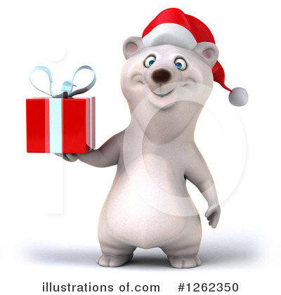 Polar Bear Clipart #1262350 by Julos