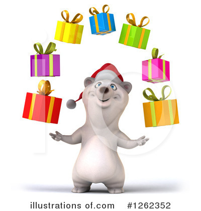 Polar Bear Clipart #1262352 by Julos