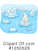 Polar Bear Clipart #1262628 by BNP Design Studio