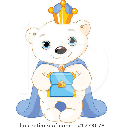 Polar Bear Clipart #1278078 by Pushkin