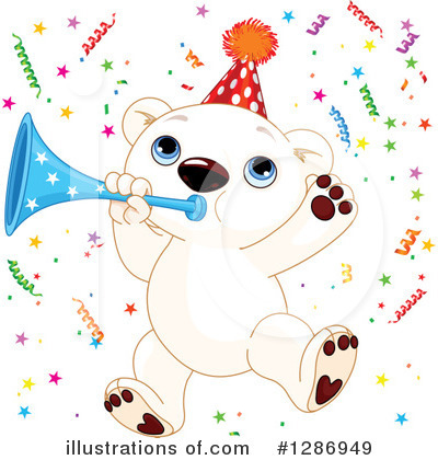 Royalty-Free (RF) Polar Bear Clipart Illustration by Pushkin - Stock Sample #1286949