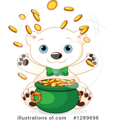 Royalty-Free (RF) Polar Bear Clipart Illustration by Pushkin - Stock Sample #1289696