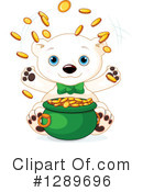 Royalty-Free (RF) Polar Bear Clipart Illustration #1289696