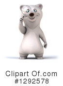Polar Bear Clipart #1292578 by Julos