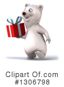 Polar Bear Clipart #1306798 by Julos