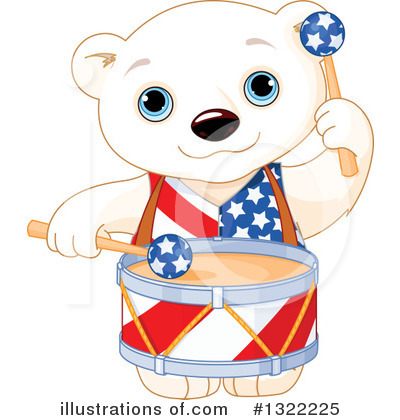Polar Bear Clipart #1322225 by Pushkin