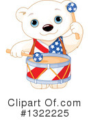 Royalty-Free (RF) Polar Bear Clipart Illustration #1322225