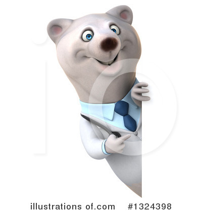 Doctor Polar Bear Clipart #1324398 by Julos