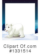 Polar Bear Clipart #1331514 by Graphics RF