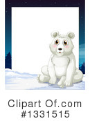 Polar Bear Clipart #1331515 by Graphics RF
