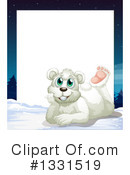Polar Bear Clipart #1331519 by Graphics RF