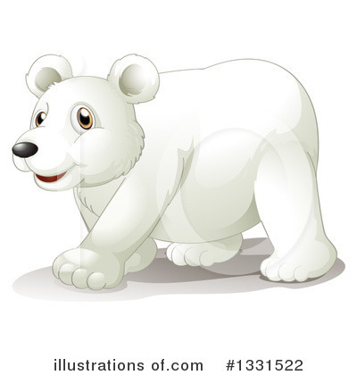 Polar Bear Clipart #1331522 by Graphics RF