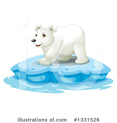Polar Bear Clipart #1331526 by Graphics RF