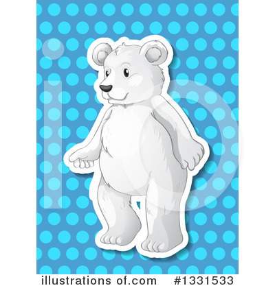 Polar Bear Clipart #1331533 by Graphics RF