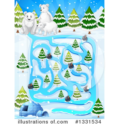 Igloo Clipart #1331534 by Graphics RF