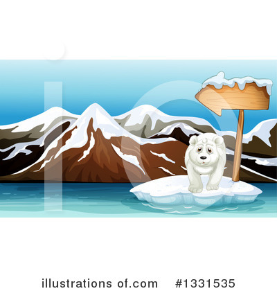 Polar Bear Clipart #1331535 by Graphics RF