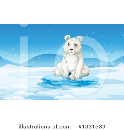 Polar Bear Clipart #1331539 by Graphics RF