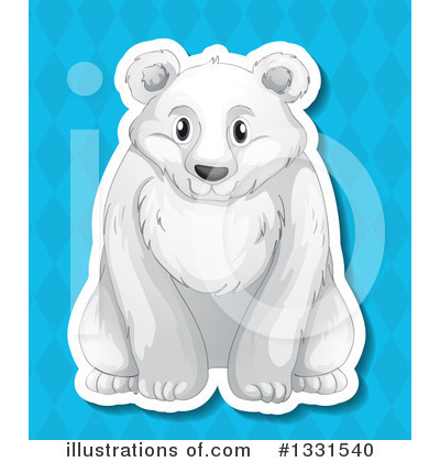 Polar Bear Clipart #1331540 by Graphics RF