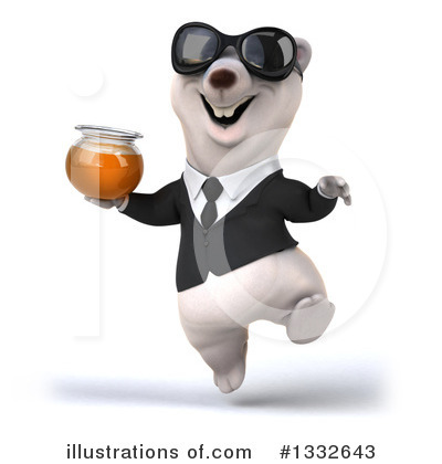 Business Polar Bear Clipart #1332643 by Julos