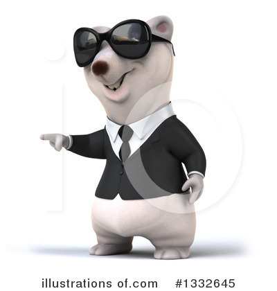 Business Polar Bear Clipart #1332645 by Julos