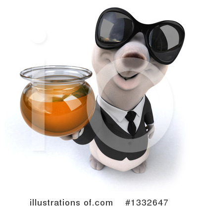 Business Polar Bear Clipart #1332647 by Julos