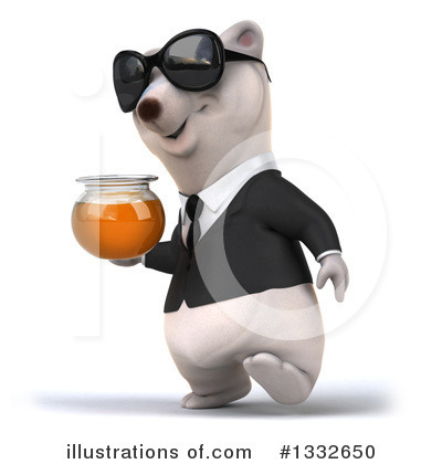 Business Polar Bear Clipart #1332650 by Julos