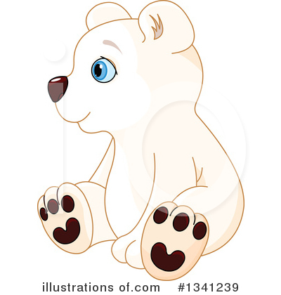 Polar Bear Clipart #1341239 by Pushkin