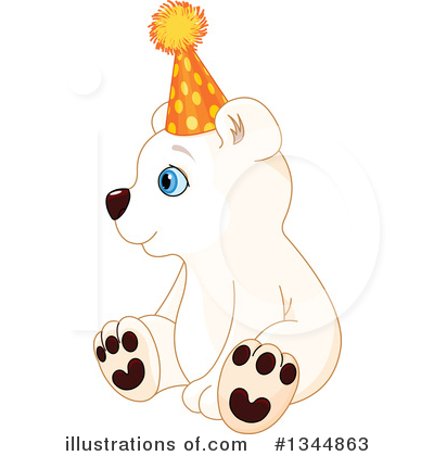 Polar Bear Clipart #1344863 by Pushkin