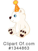Royalty-Free (RF) Polar Bear Clipart Illustration #1344863