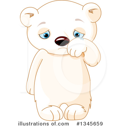 Polar Bear Clipart #1345659 by Pushkin