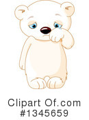 Royalty-Free (RF) Polar Bear Clipart Illustration #1345659