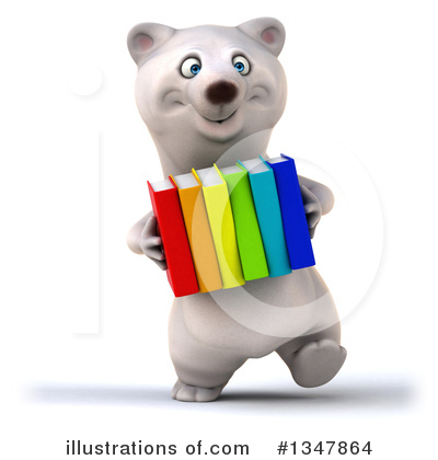 Polar Bear Clipart #1347864 by Julos