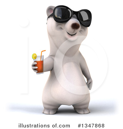 Polar Bear Clipart #1347868 by Julos