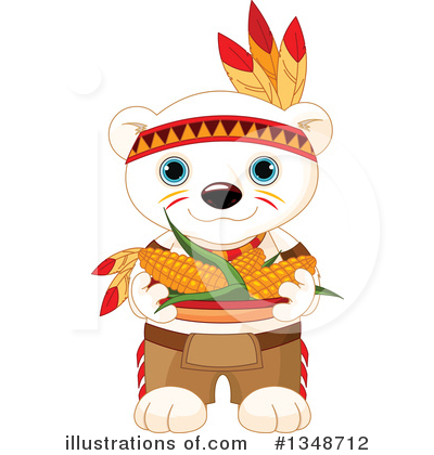 Polar Bear Clipart #1348712 by Pushkin