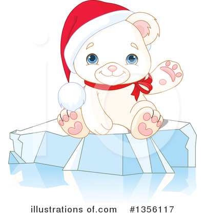 Polar Bear Clipart #1356117 by Pushkin