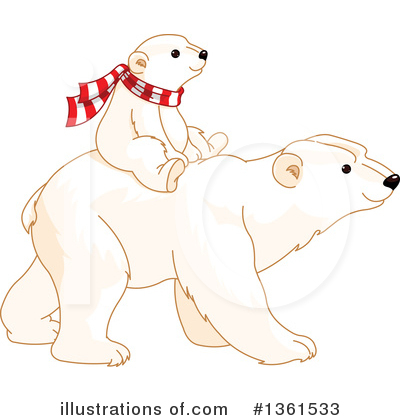 Polar Bear Clipart #1361533 by Pushkin