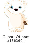 Royalty-Free (RF) Polar Bear Clipart Illustration #1363604