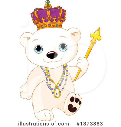 Polar Bear Clipart #1373863 by Pushkin